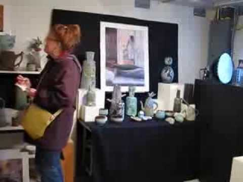 Dennis Meiners Ceramics, Leslie Lee Fine Arts, Open Studio, Portland Oregon