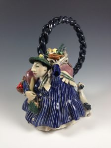 For Auction: Leslie Lee 1990 teapot