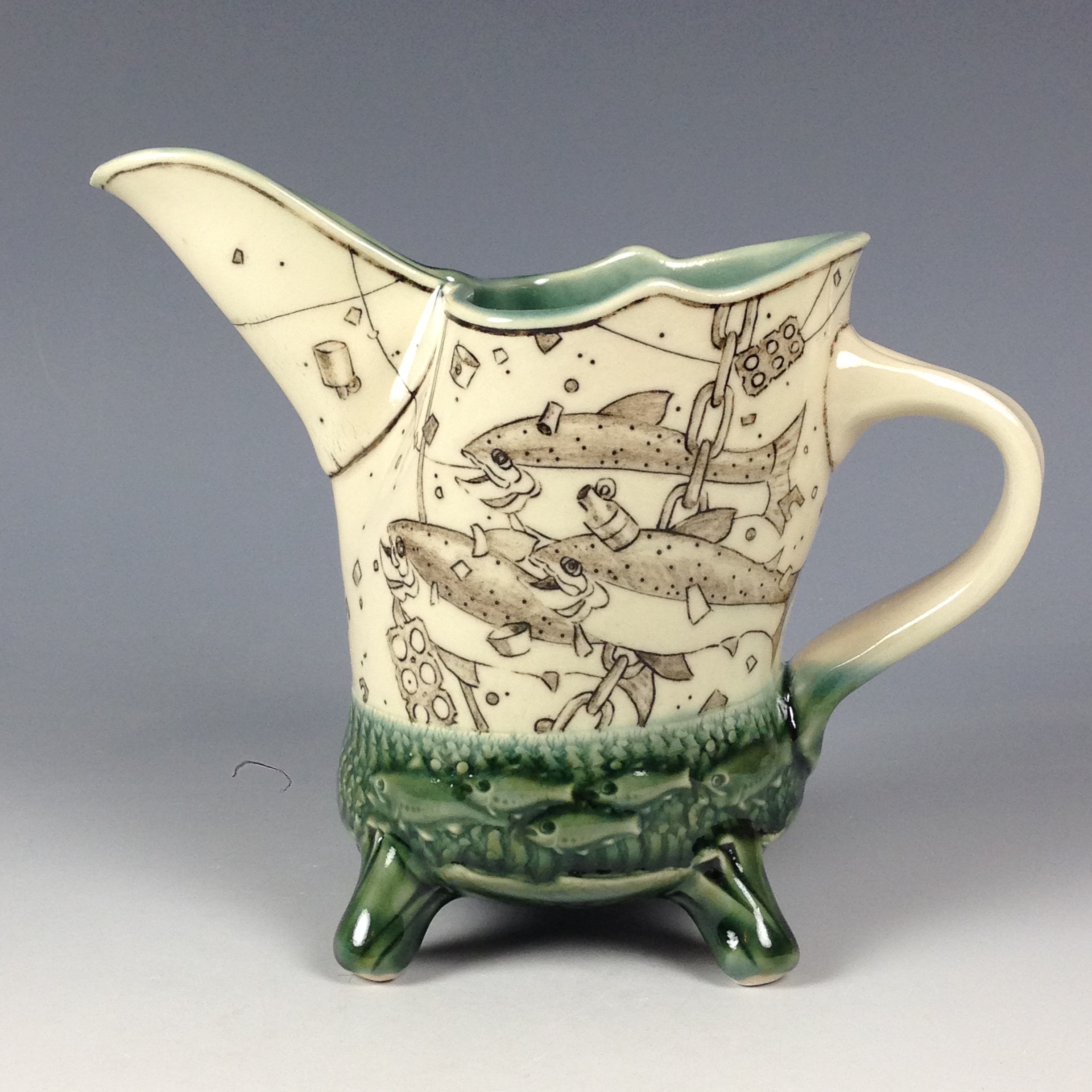 Mishima Pitcher 380 Meiners And Lee Studios The Art